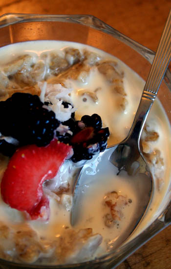 oatmeal-pudding-and-berries